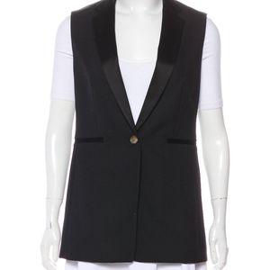 Rag & Bone Wool Blend Tuxedo Vest